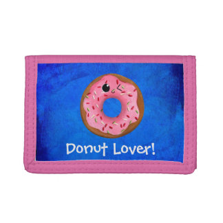 Delicious Donuts Tri-fold Wallets