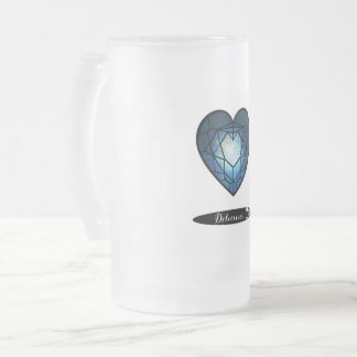 Delicious Frosted Glass Beer Mug