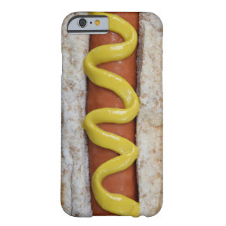 delicious hot dog with mustard photograph barely there iPhone 6 case