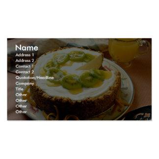 Delicious Kiwi pie Business Cards