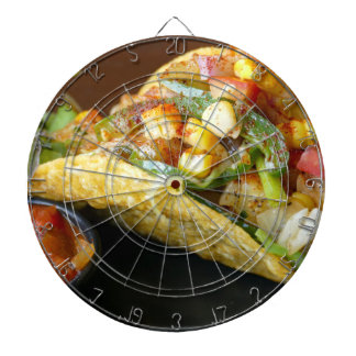 delicious Mexican Tacos photograph Dartboard