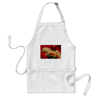 Delicious Mixed vegetable salad, rice bowl Apron