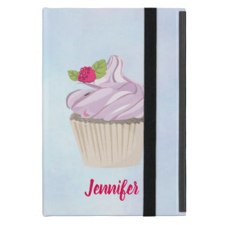 Delicious Pink Cupcake Berry on Top Custom Case For iPad Mini