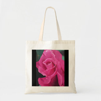 Delicious Pink Rose Tote Bag