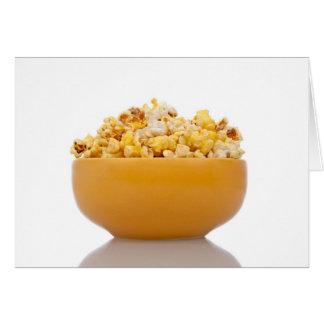 Delicious popcorn card