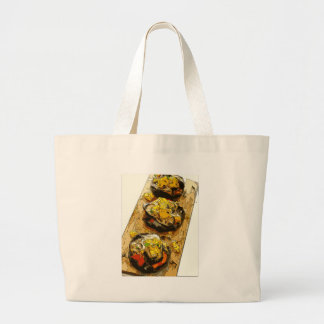 Delicious Potato stuffed with Grilled Veggies Bags