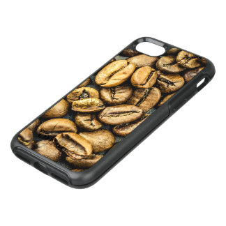 Delicious rustic gold coffee beans OtterBox symmetry iPhone 8/7 case