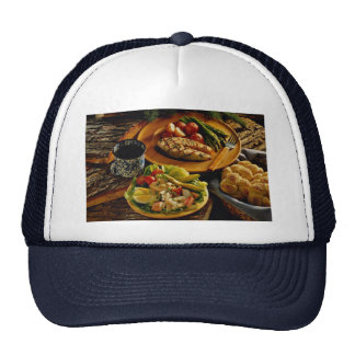 Delicious Salmon dinner Hats