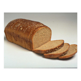 Delicious Sliced wheat bread Postcard