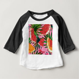 Delicious Summer Fruit Melon tasty Design Baby T-Shirt
