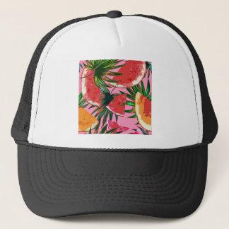 Delicious Summer Fruit Melon tasty Design Trucker Hat