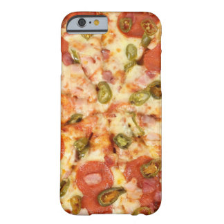 delicious whole pizza pepperoni jalapeno photo barely there iPhone 6 case