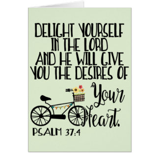 Delight Yourself in the Lord Note Card