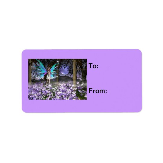 Delighted Gift Label Address Label