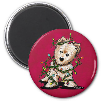 DeLighted Terrier Dog Magnet