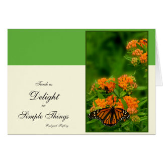 Delightful Butterfly Card