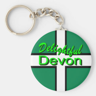 Delightful Devon Key Ring