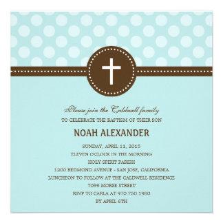 Delightful Dots Baptism/Christening Invitation Invitation