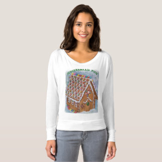 DELIGHTFUL fGINGERBREAD HOUSE T-Shirt