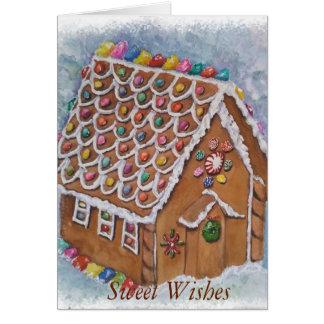 Delightful Gingerbread Christmas Card