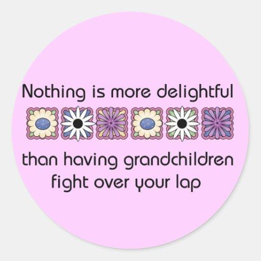 Delightful Grandchildren Stickers