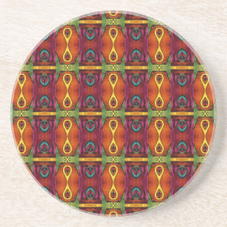 Delightfully African Pattern Coasters