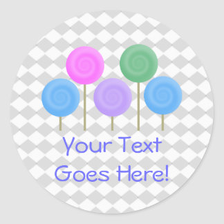 Delightfully Sweet Collection Classic Round Sticker