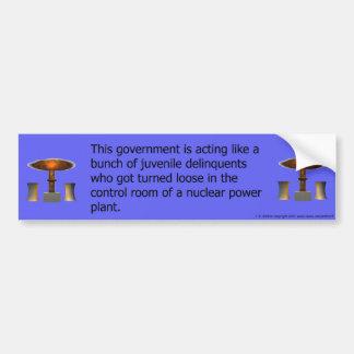 delinquents bumper sticker