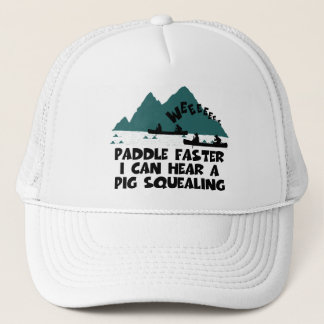 Deliverance,squeal little piggy parody trucker hat