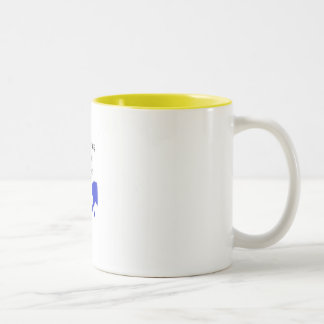 Delivering God's Truth (coffee mug) Two-Tone Coffee Mug