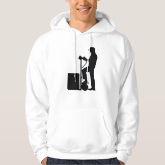 Delivery Driver Silhouette Hoodie
