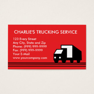 Freight business cards business card printing zazzle for Trucking business card design