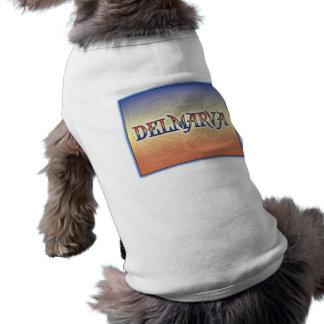 DelMarVa Antique Map Sleeveless Dog Shirt