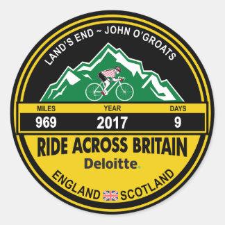 Deloitte RIDE ACROSS BRITAIN 2017 Sticker