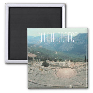 Delphi Greece Photo Travel Souvenir Fridge Magnet