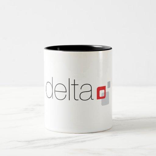DELTA 15oz Black Inside Mug