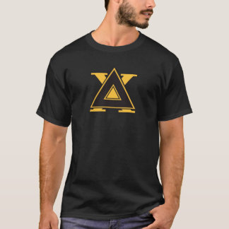 Delta Chi Badge Gold T-Shirt