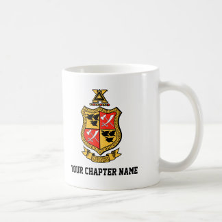 Delta Chi Coat of Arms Coffee Mug