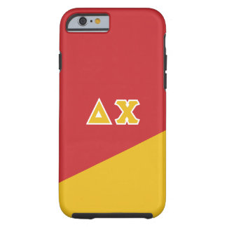 Delta Chi | Greek Letters Tough iPhone 6 Case