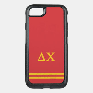 Delta Chi | Sport Stripe OtterBox Commuter iPhone 8/7 Case