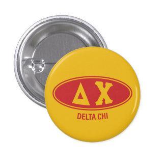 Delta Chi | Vintage 3 Cm Round Badge