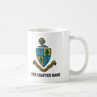 Delta Delta Delta Crest Color Coffee Mug
