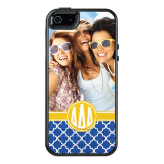 Delta Delta Delta | Custom Monogram Pattern OtterBox iPhone 5/5s/SE Case