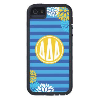 Delta Delta Delta | Monogram Stripe Pattern Case For The iPhone 5