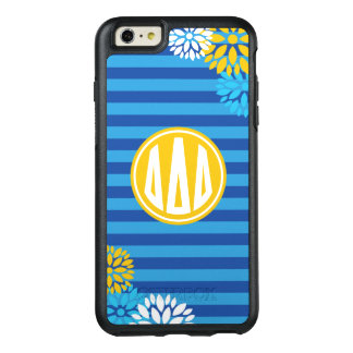Delta Delta Delta | Monogram Stripe Pattern OtterBox iPhone 6/6s Plus Case