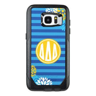 Delta Delta Delta | Monogram Stripe Pattern OtterBox Samsung Galaxy S7 Edge Case