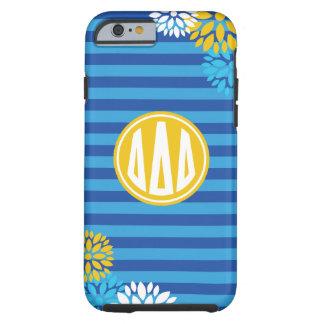 Delta Delta Delta | Monogram Stripe Pattern Tough iPhone 6 Case