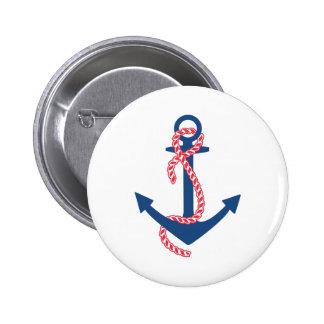 Delta Gamma Anchor 6 Cm Round Badge