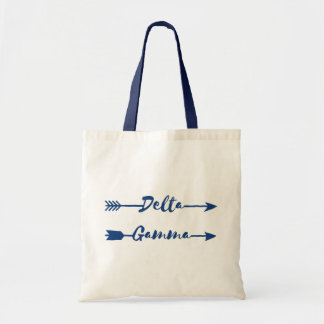 Delta Gamma | Arrow Tote Bag