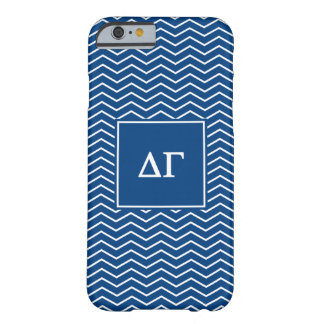 Delta Gamma | Chevron Patter Barely There iPhone 6 Case